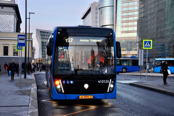 KAMAZ will deliver other 200 electric buses to Moscow